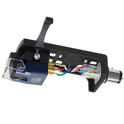 オーディオテクニカ VM型ステレオカートリッジ(ヘッドシェル付) VM520EB/H [レコードオプション品][audio-technica]【快適家電デジタルライフ】