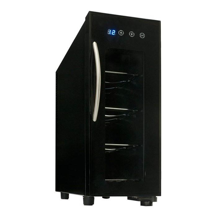 ベルソス(VERSOS) ワインセラー VS-WC04 ブラック 4本収納 [庫内容量12L]【快適家電デジタルライフ】