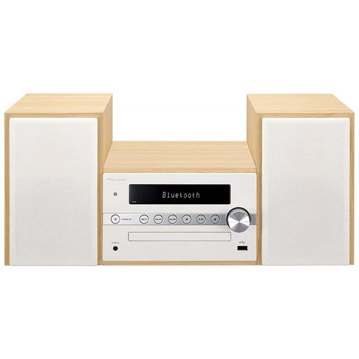 パイオニア(Pioneer) CDミニコンポーネントシステム X-CM56-W ホワイト【快適家電デジタルライフ】