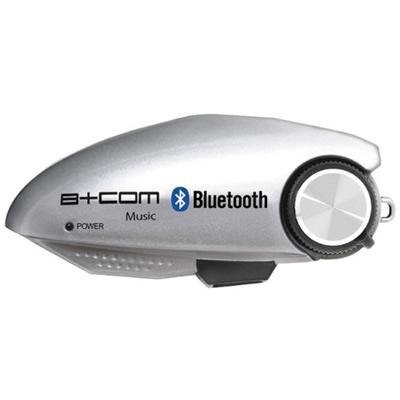 サインハウス B+COM Music シルバー (00073363) バイク用Bluetooth式ワイヤレス・オーディオレシーバー [ヘルメットオーディオ][ビーコム][SYGN HOUSE]【快適家電デジタルライフ】
