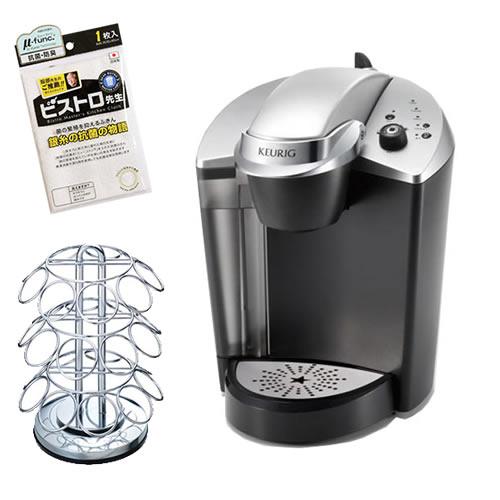 【Kカップツリー&ふきん付】キューリグ KFEB50J 家庭用抽出機 [K-Cupパック専用コーヒーマシン][KEURIG]