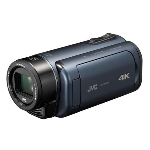 JVCケンウッド GZ-RY980-A ディープオーシャンブルー 4Kメモリームービー ビデオカメラ Everio R QUAD PROOF (GZRY980A)