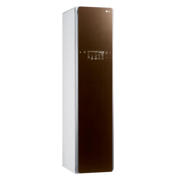 (メーカー直送/配送設置込)(代引き不可)LGエレクトロニクス S3RER ブラウン スチームウォッシュ&ドライ ライフスタイルクローゼット「LG styler」(快適家電デジタルライフ)