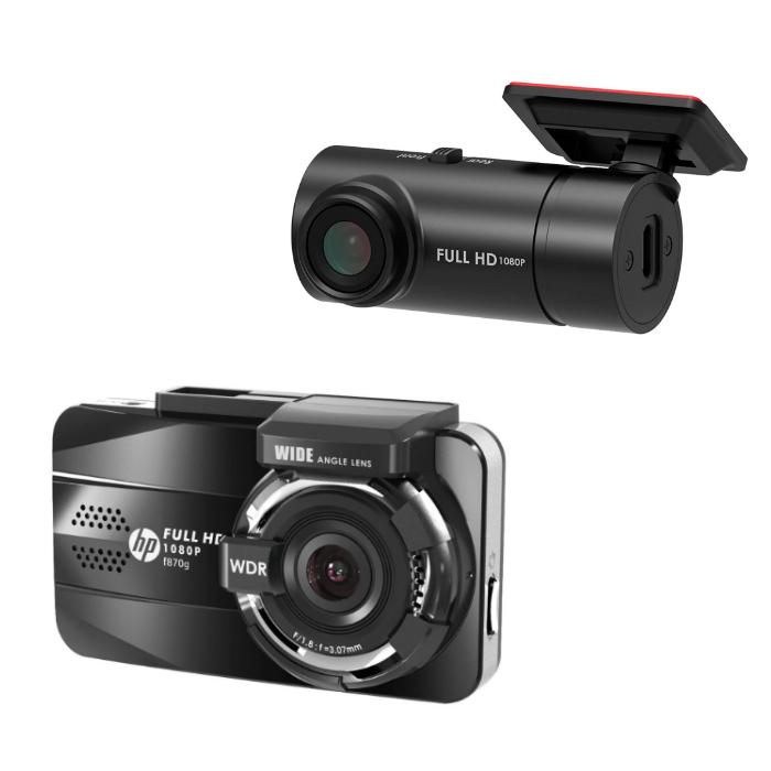 (リアカメラRC3セット) HP ドライブレコーダー f870g(快適家電デジタルライフ)