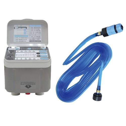 【ガーデン用品セット】 藤原産業 セフティ-3 自動水やり器 SAW-1 + セフティ-3 散水チューブ 5M SST-5M セット(ラッピング不可)