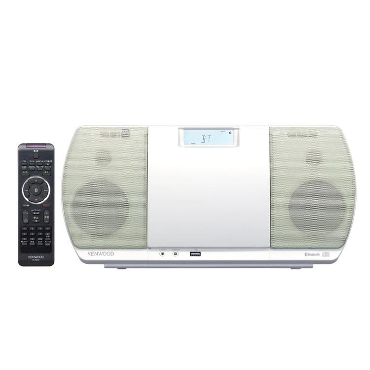 ケンウッド CD/Bluetooth/USBパーソナルオーディオシステム CR-D3-W ホワイト (CRD3W)(KENWOOD) (ラッピング不可)(快適家電デジタルライフ)