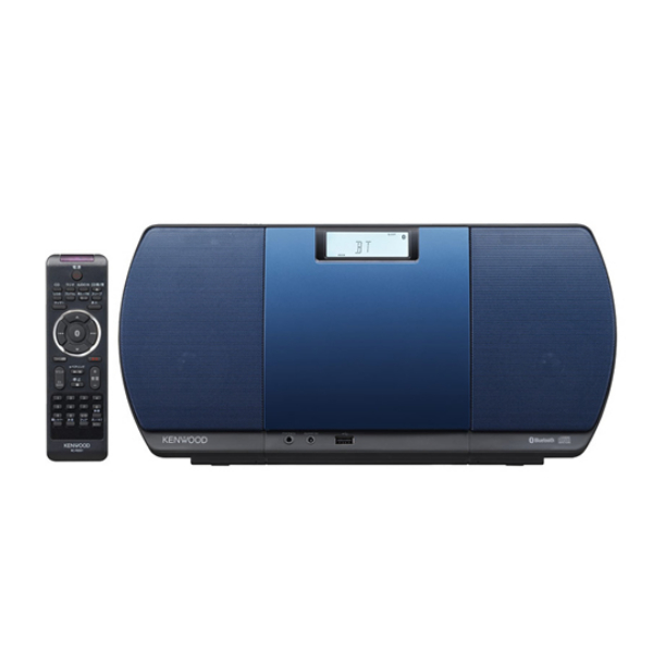 ケンウッド CD/Bluetooth/USBパーソナルオーディオシステム CR-D3-L ブルー (CRD3L)(KENWOOD) (ラッピング不可)(快適家電デジタルライフ)