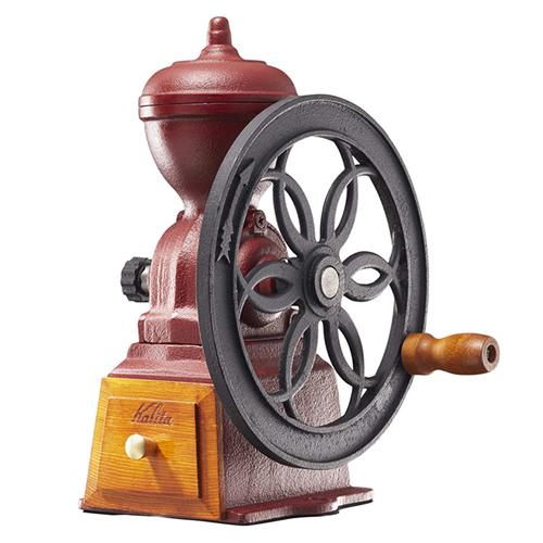 カリタ ダイヤミルN(レッド) #42137 手挽きコーヒーミル (コーヒー用品)(Kalitta)(快適家電デジタルライフ)
