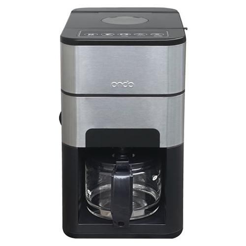丸隆 Ondo 石臼式コーヒーメーカー ON-01-BK ブラック (MARUTAKA) (ラッピング不可)(快適家電デジタルライフ)