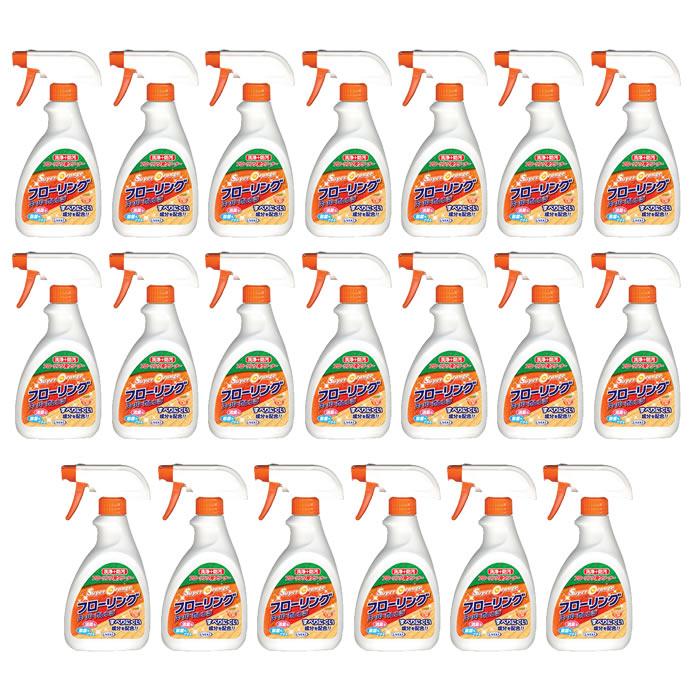 (20本セット)ウエキ フローリング用クリーナー スーパーオレンジフローリング本体 400ml 洗剤 (UYEKI) (ラッピング不可)(快適家電デジタルライフ)