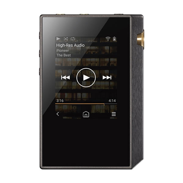デジタルオーディオプレーヤー ミュージックプレーヤー ポータブル ハイレゾ XDP-30R(B) ブラック パイオニア pioneer(快適家電デジタルライフ)
