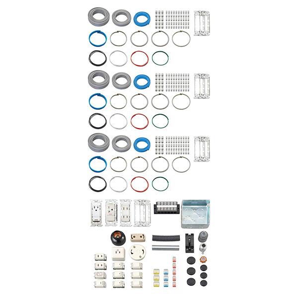 ホーザン 第二種電工試験練習用部材セット 3回セット DK-53 (HOZAN)(ラッピング不可)(快適家電デジタルライフ)
