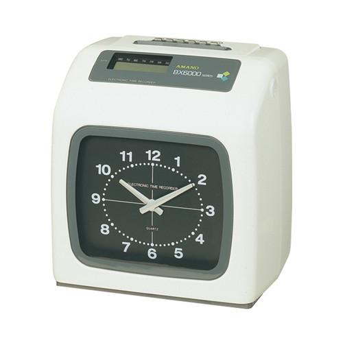 【送料無料】アマノ 電子タイムレコーダー BX6000(W) [AMANO]【快適家電デジタルライフ】