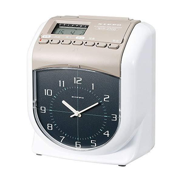 【6欄印字】ニッポー タイムレコーダー NTR-2700 [1日/6打刻可][Nippo/Calcolo]【快適家電デジタルライフ】