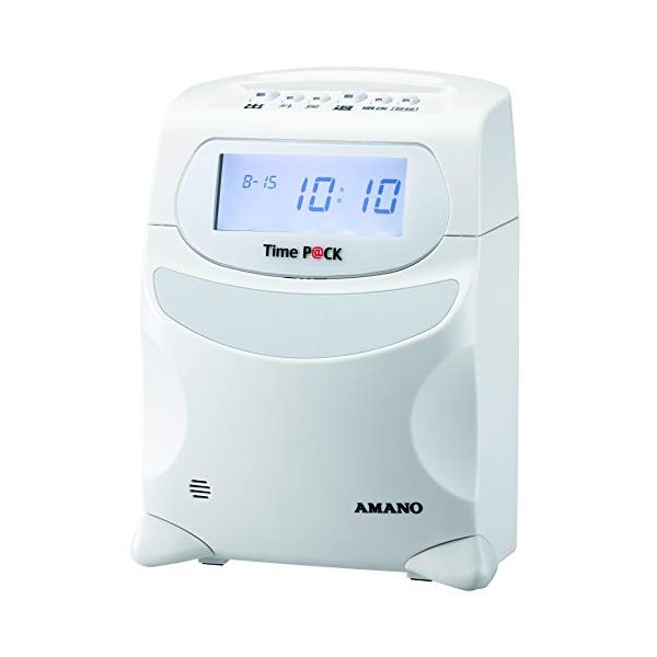 【パソコンで簡単集計!】アマノ タイムレコーダー TimeP@CKIII 100 タイムパック【快適家電デジタルライフ】