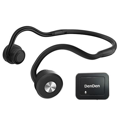 DenDen DENHEADH 骨伝導で内耳に直接音を伝える骨伝導集音器(快適家電デジタルライフ) デンデン 集音器付き骨伝導ワイヤレスヘッドホン