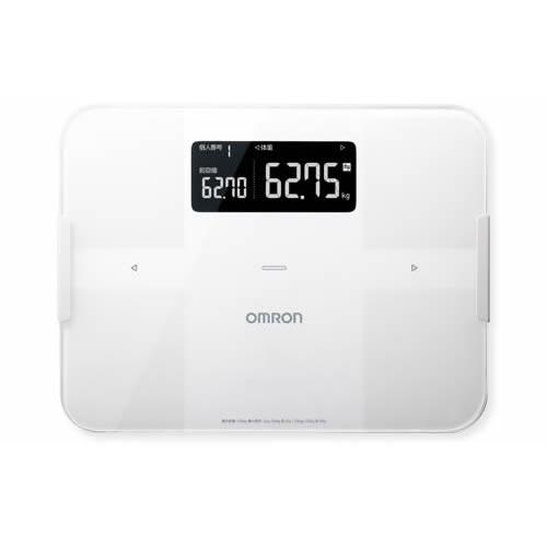 オムロン 体組成計 体重計 HBF-255T-W カラダスキャン ホワイト OMRON HBF255T (ラッピング不可)(快適家電デジタルライフ)