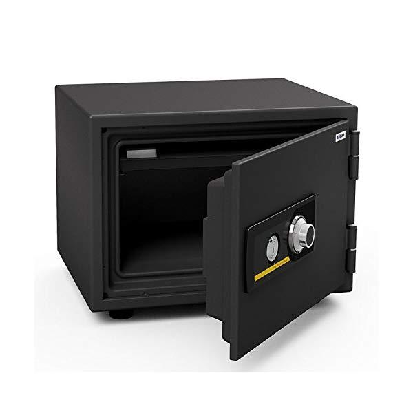 (メーカー直送)(代引不可) EIKO エーコー 小型耐火金庫 スタンダードシリーズ ダイヤルタイプ BSS-A (ラッピング不可)(快適家電デジタルライフ)