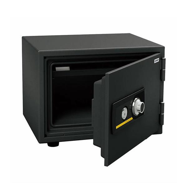 (メーカー直送)(代引不可) EIKO エーコー 小型耐火金庫 スタンダードシリーズ ダイヤルタイプ BSS-4 (ラッピング不可)(快適家電デジタルライフ)