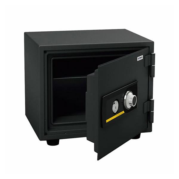(メーカー直送)(代引不可) EIKO エーコー 小型耐火金庫 スタンダードシリーズ ダイヤルタイプ BES-9 (ラッピング不可)(快適家電デジタルライフ)