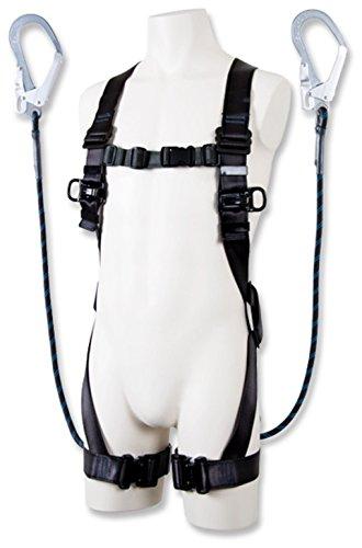 ハーネス型安全帯 ツヨロンフルハーネス安全帯黒影Gブレードツインランヤード R5042GBBX  (7984731)(快適家電デジタルライフ)