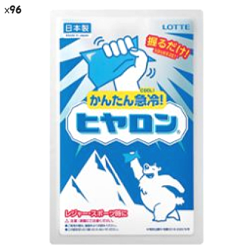 (96点セット) (冷却用品) ロッテ ヒヤロン (ラッピング不可)(快適家電デジタルライフ)