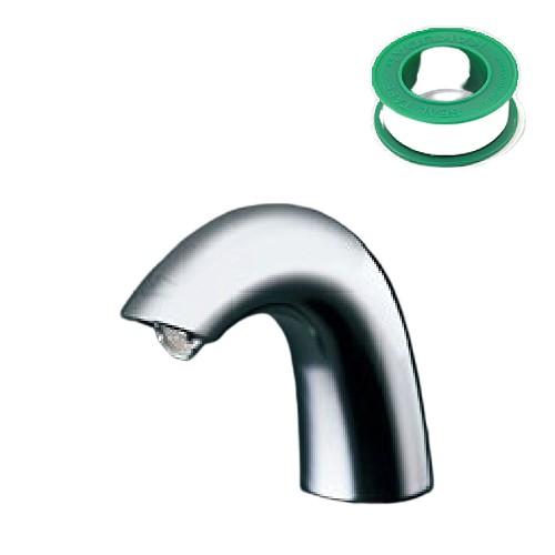 (セット)(洗面水栓) TOTO TENA40AW +(シールテープ) カクダイ 5m 9630 (8072853) (ラッピング不可)(快適家電デジタルライフ)