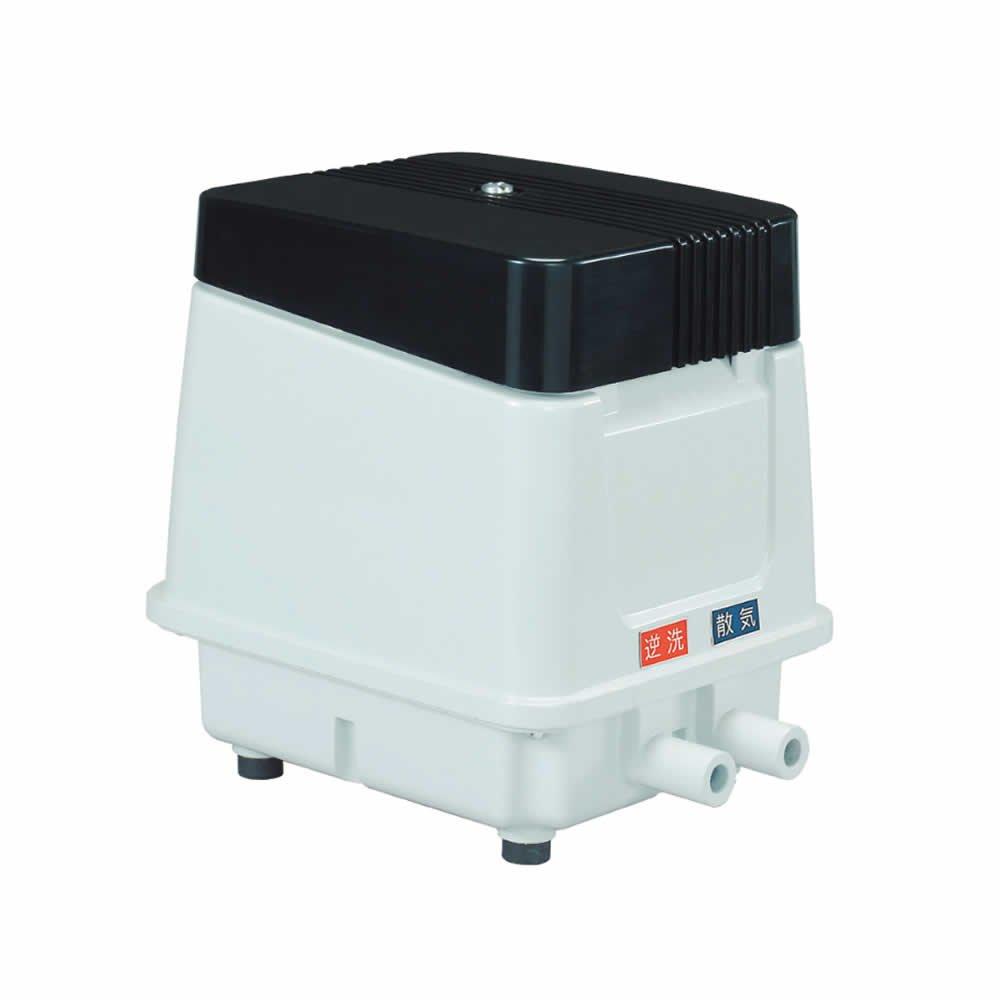 (電磁式エアーポンプ)ヤスナガ EP-80ER 自動逆洗機能 逆洗タイマー付 右側散気(快適家電デジタルライフ)