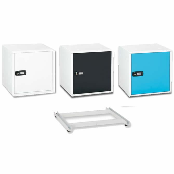 (各色1個ずつ&ベースセット) アスカ (SB500/SB550) 組立式収納ボックス (ラッピング不可)(快適家電デジタルライフ)