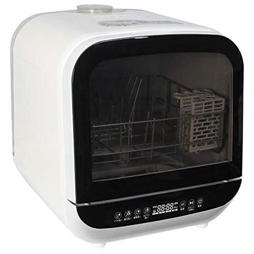 エスケイジャパン (食洗機)(SDW-J5L-W)ジェイム 工事不要 食器洗い乾燥機 2~3人用 ホワイト(ラッピング不可)(快適家電デジタルライフ)