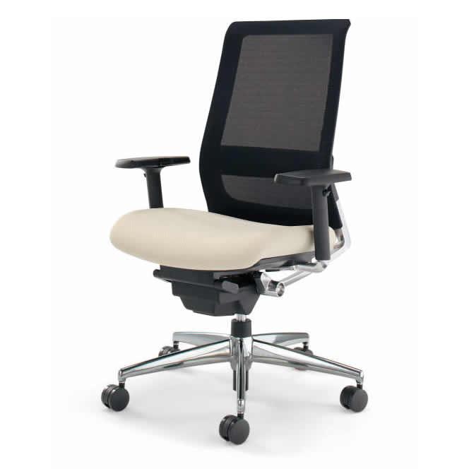 KOKUYO オフィスチェア エアフォート(AIRFORT) CR-GA2351 [可動肘付] 【キャスター・カラー選択式】【快適家電デジタルライフ】