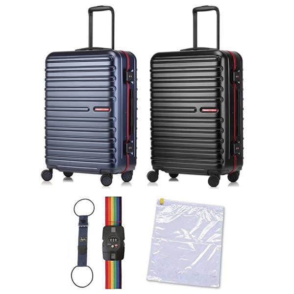 (ポイント10倍中!)(便利グッズセット)(3~5泊用)サンコー鞄 スーツケース (WIZM-60) Wizard-M (約58L)(ラッピング不可)(快適家電デジタルライフ)