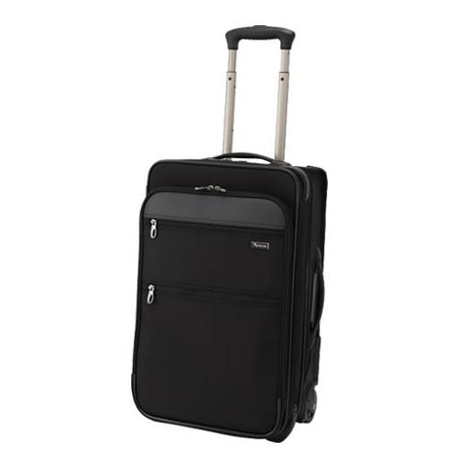 1~2泊用 スーツケース パスファインダー レボリューション XT DAX トロリー 22インチ 約37~53L PF6822DAXB ブラック (メーカー直送)(ラッピング不可)(快適家電デジタルライフ)