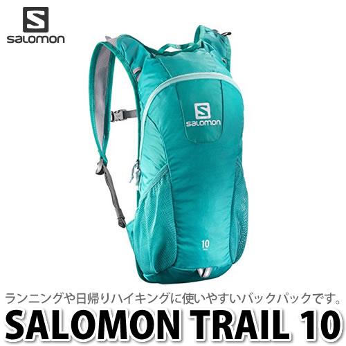 SALOMON バッグ TRAIL 10 BAG L37997900 (TEAL BLUE F) 【ラッピング不可】【快適家電デジタルライフ】