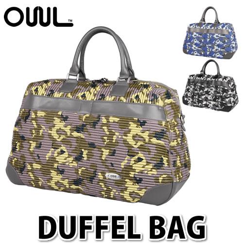 【ボストンバッグ】OWL オウル(OUUL) Camouflage DUFFEL BAG (RB6MD) 【ラッピング不可】【快適家電デジタルライフ】