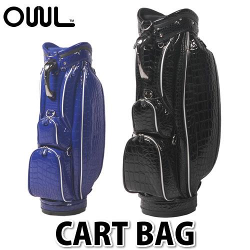 【キャディバッグ】OWL オウル(OUUL) Alligator CART BAG (AL6MCT) 【ラッピング不可】【快適家電デジタルライフ】