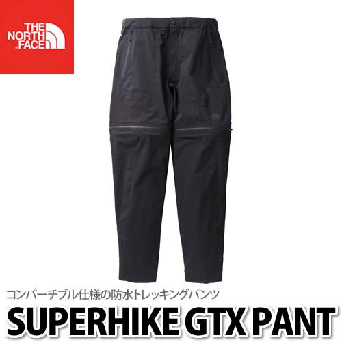 THE NORTH FACE(ザノースフェイス)Superhike GTX Pant(スーパーハイクGTXパンツ)NP11802 (K)ブラック(サイズ:S/M/L)(快適家電デジタルライフ)