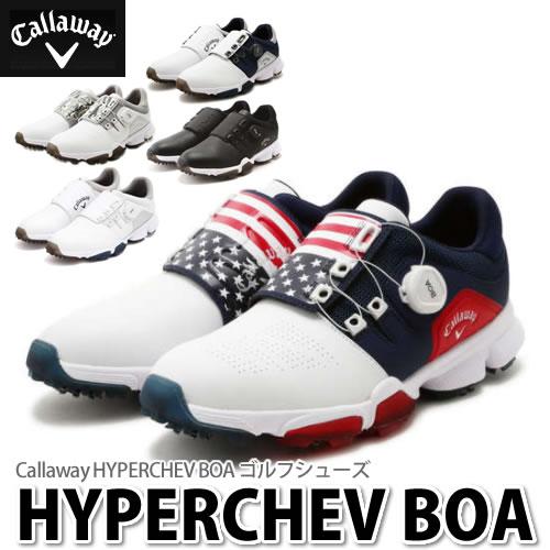 (ゴルフシューズ)Callaway(キャロウェイ) 247-8983501 HYPERCHEV Boa 18 (ラッピング不可)(快適家電デジタルライフ)