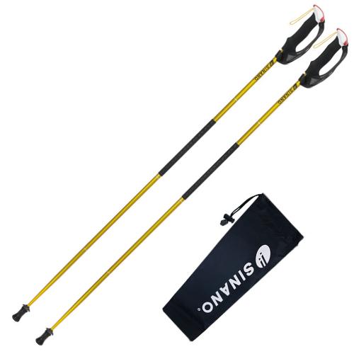 SINANO(シナノ)トレランポール 13.6 Pro ゴールド (折りたたみ式)(サイズ選択式)(ラッピング不可)(快適家電デジタルライフ)