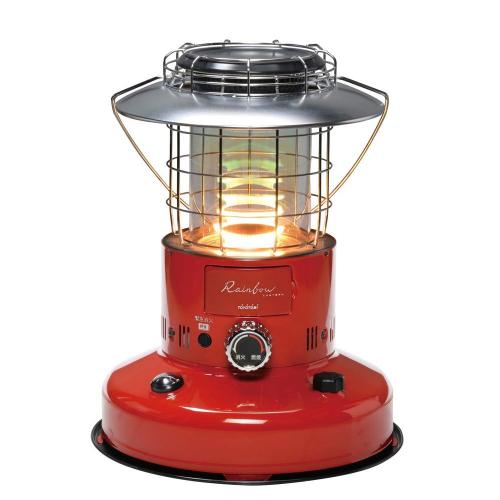 (代引き不可)TOYOTOMI 石油暖房機 RL-250(R)レッド (レインボーの炎)(ラッピング不可)(快適家電デジタルライフ)