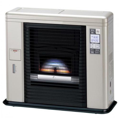 【代引き不可】sunpot サンポット ゼータスイング FF式 床暖内蔵石油暖房機 UFH-703SX R (クールトップ)(ラッピング不可)(快適家電デジタルライフ)