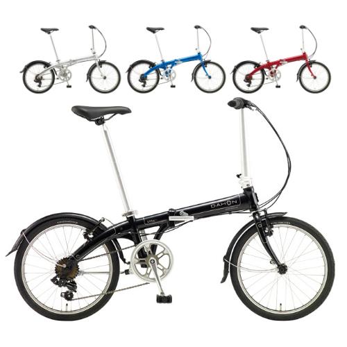 DAHON(ダホン) 20インチ折りたたみ自転車 Vybe D7(ヴァイブ D7) (2018モデル)(ラッピング不可)(快適家電デジタルライフ)