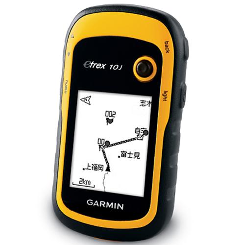 【日本語版】GARMIN ガーミン アウトドアGPS eTrex10J 【国内正規品】【快適家電デジタルライフ】
