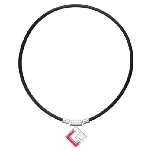 ColanTotte コラントッテ TAO ネックレス AURA ブラック レッドラメ(磁気ネックレス)(カラーサイズ選択式)(快適家電デジタルライフ)