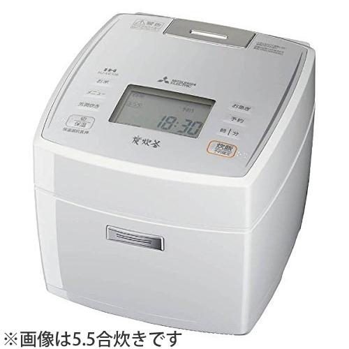 三菱電機 炊飯器 NJ-VE188(W)ピュアホワイト(NJ-VE188-W)1.8L(10合)(連続沸騰)(ジャー炊飯器)(ラッピング不可)(快適家電デジタルライフ)