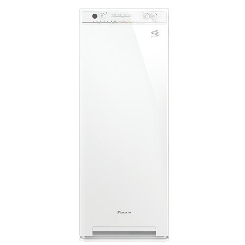 DAIKIN ダイキン 加湿ストリーマ空気清浄機 ACK55V ホワイト(55型/床置型)(花粉運転)(ホコリ・PM2.5・ニオイセンサー)(ラッピング不可)(快適家電デジタルライフ)