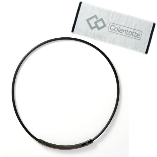(数量限定おまけ付)ColanTotte コラントッテ TAOネックレス スリム ARIE(アリエ) ブラック ABAPU01(サイズ選択式)(磁気ネックレス)(快適家電デジタルライフ)
