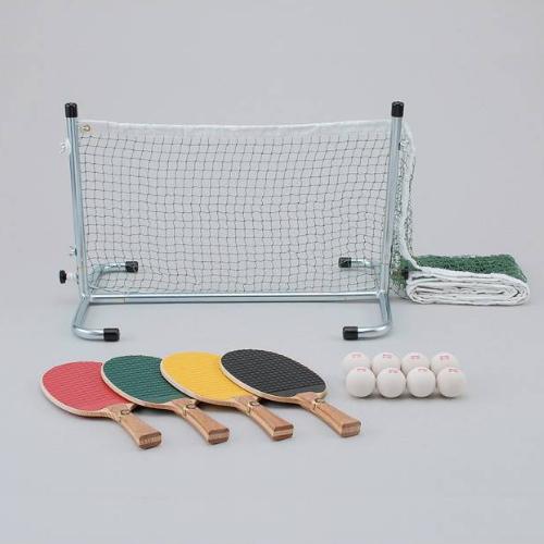 サンラッキー フリーテニス SDXセット SF-SDXR【ニュースポーツ】【快適家電デジタルライフ】