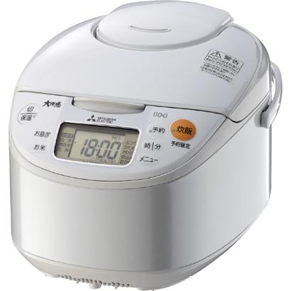 【~5.5合炊き】三菱電機(MITSUBISHI) IHジャー炊飯器 NJ-NH106-W ホワイト [ベーシックタイプ][キッチン家電]【快適家電デジタルライフ】