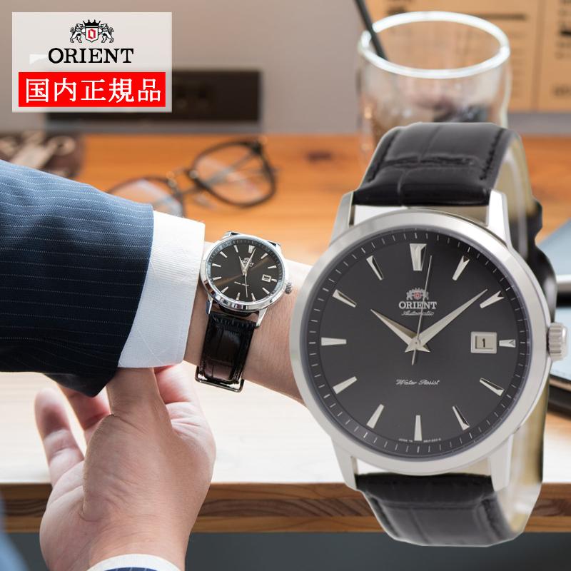 ORIENT(オリエント)【日本製】受注生産モデル【腕時計】 SER27006B 機械式 自動巻き メカニカル 革バンド(黒)(EPSON エプソン販売)(快適家電デジタルライフ)
